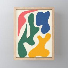 Abstract Shapes # 6 Framed Mini Art Print