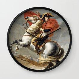 Bonaparte Crossing the Alps Wall Clock