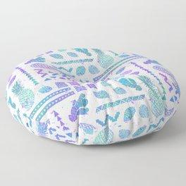 Pineapple Ginger Mint Floor Pillow