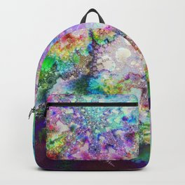 abstract 006: snowflake Backpack