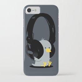 Le poussin mélomane iPhone Case