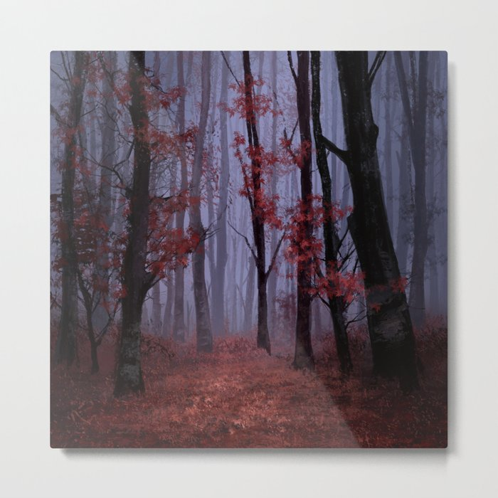 red forest 2 Metal Print