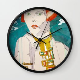 ARTDECOnstruction Wall Clock