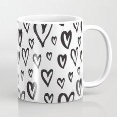 Inky Dinky Hearts Mug