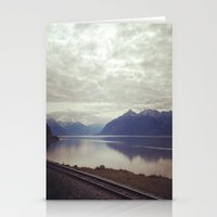 alaska Stationery Cards featuring Alaska by Alex Rakoczy