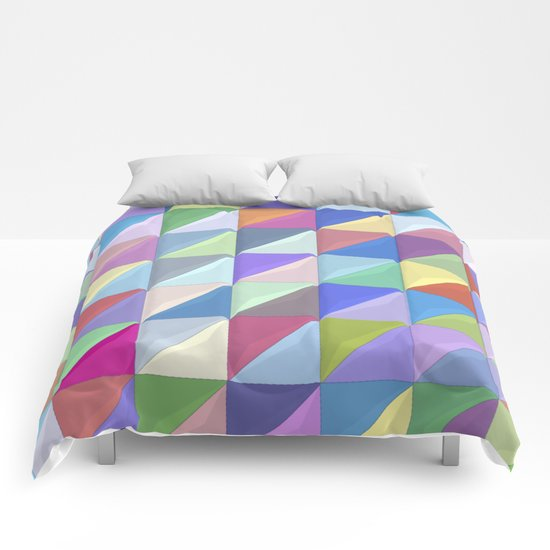 Geometric Shapes I Comforters