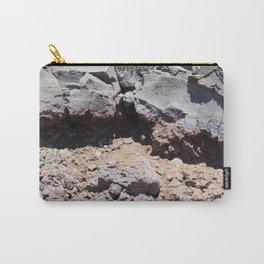 road trip, lava destruction, melted rock, landscape Carry-All Pouch