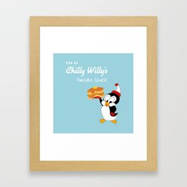 Chilly Willy Framed Art Print