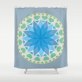Flower Mandala N.4 Shower Curtain