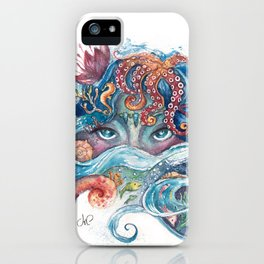 SEA NYMPH iPhone Case