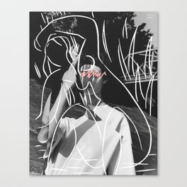 L'intérieur d'une femme Canvas Print