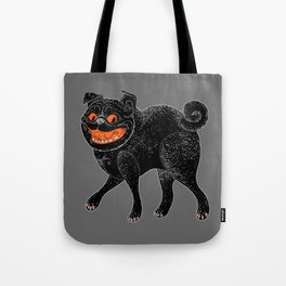 Scratch Pug Tote Bag