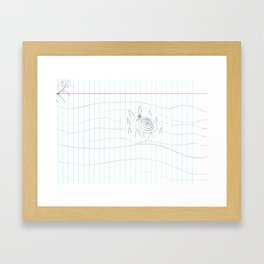 I Found Charybdis Framed Art Print