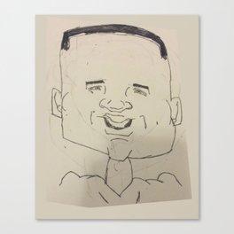 Earl Thomas Caricature Canvas Print