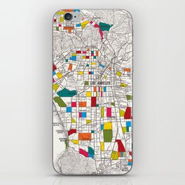 Los Angeles Streets iPhone Skin