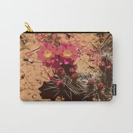 Red Cacti Abstract Carry-All Pouch