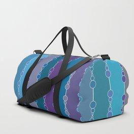 Multi-faceted decorative lines 4 Duffle Bag