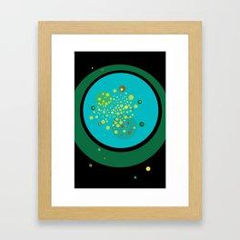 Green No. 1 Framed Art Print