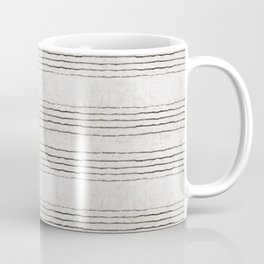 LINEN STRIPE RUSTIC Coffee Mug
