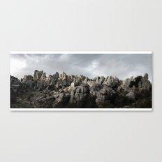 El Torcal Canvas Print