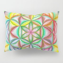 Clues in the Colors - The Rainbow Tribe Collection Pillow Sham