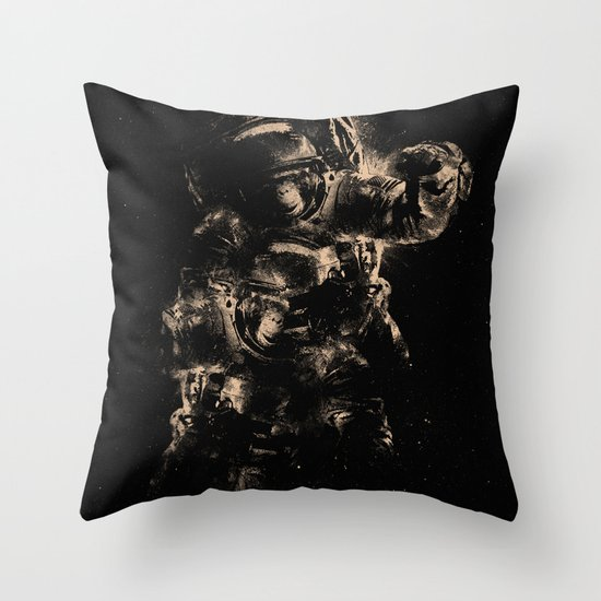 Lost in Space II Throw Pillow