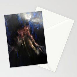abstrackt blueNo2 Stationery Cards