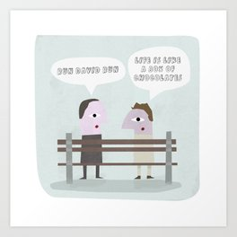 The Miliband of brothers Art Print