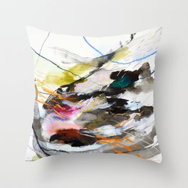 Day 56: Move gently with nature and things will fall into their rightful place. Throw Pillow
