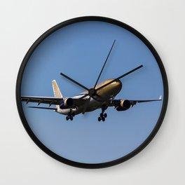 Gulf Air Airbus A330 Wall Clock