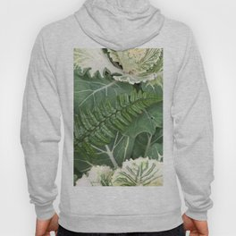 Fern on Cabbage Hoody
