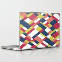 matisse Laptop & iPad Skins featuring Map Matisse by Project M