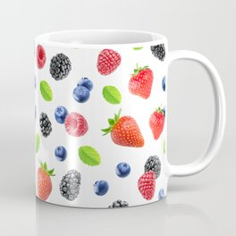 Fresh berries pattern Coffee Mug