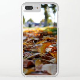 Leaf POV Clear iPhone Case