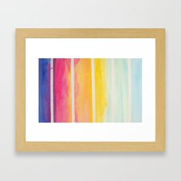 afternoon laughter Framed Art Print