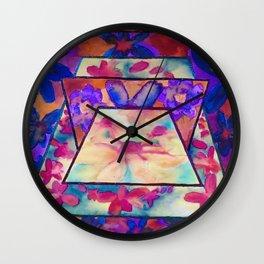 Flowerama Wall Clock