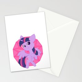 Chibi Princess Twilight Sparkle Stationery Cards