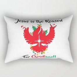 Jesus Is The Reason Rectangular Pillow
