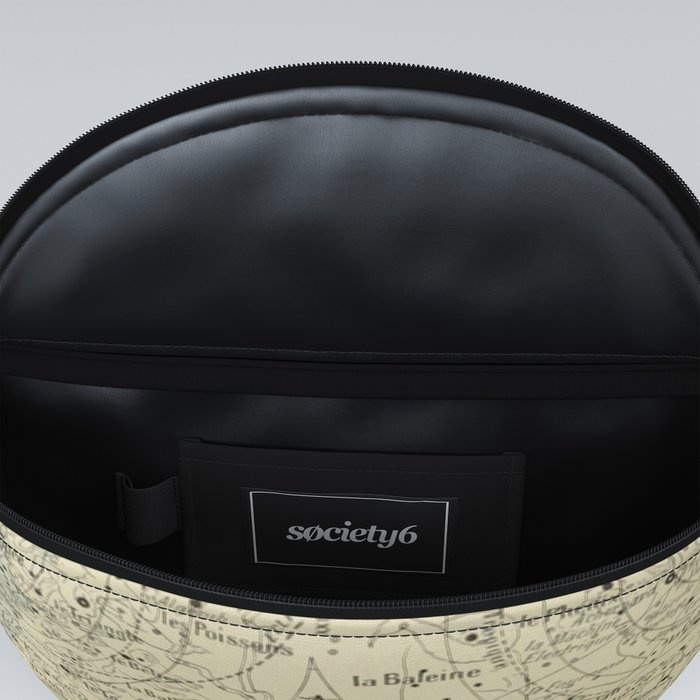 French Constellation Map Fanny Pack