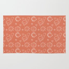 Caramel Town - Red Dotty Rug