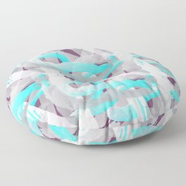 Out of the blue pattern Floor Pillow