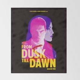 From Dusk Till Dawn II - Richie & Santanico Throw Blanket