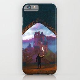 Castle Portal Colorful iPhone Case