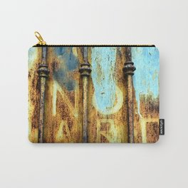 rusty metal gate Carry-All Pouch