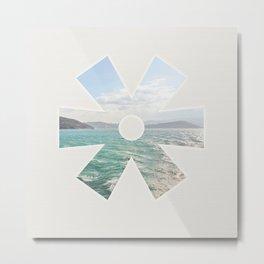 summer seas Metal Print