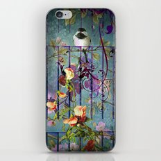 Over the garden gate iPhone & iPod Skin