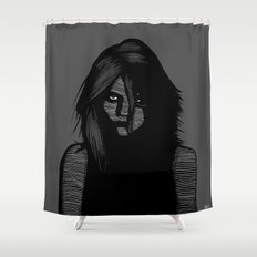 Sky Lines Shower Curtain