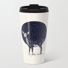 Snow Flake Metal Travel Mug