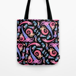 Ancient cephalopods Tote Bag