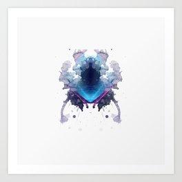 Inknograph XVIII - Rorschach Art Art Print